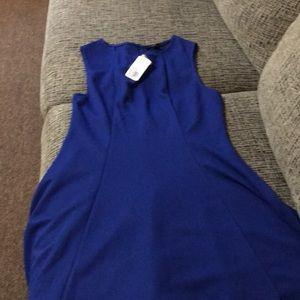 Royal blue short dress